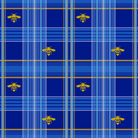 Edmund Tartan half size fabric by lilyoake on Spoonflower - custom fabric