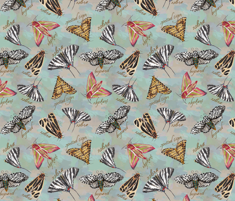 Insect_Safari fabric by margotbevi on Spoonflower - custom fabric