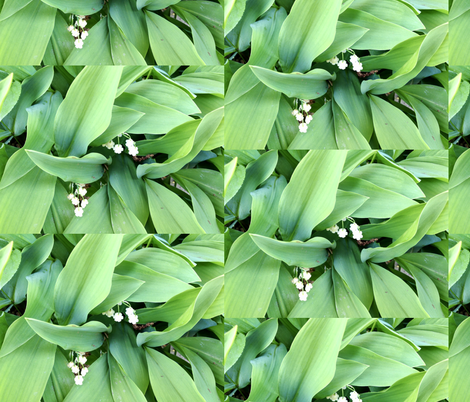 Lilies of the Valley 2-ed fabric by dalabuda on Spoonflower - custom fabric