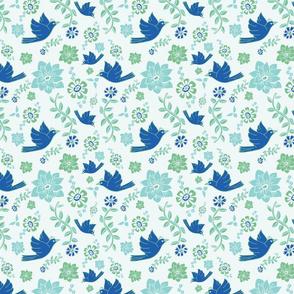 Palace Grounds Jade Birds