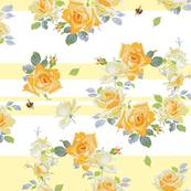 Louise buttercup stripe