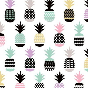 Pastel tropical hawaiian summer sweet kawaii pineapple fruit for girls