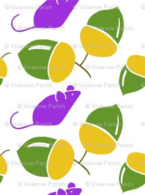 Cheeky Purple Mouse 3