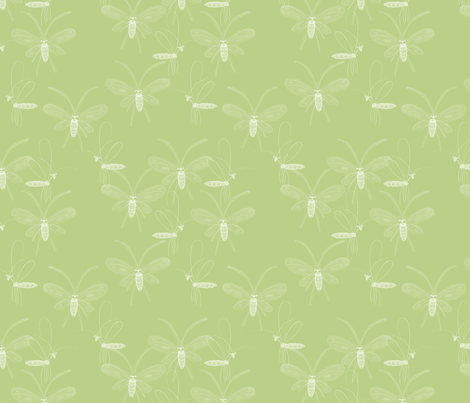 Bugs_H2O1 fabric by mylovenart on Spoonflower - custom fabric