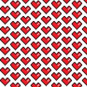 Pixel Heart (0.95 inch)
