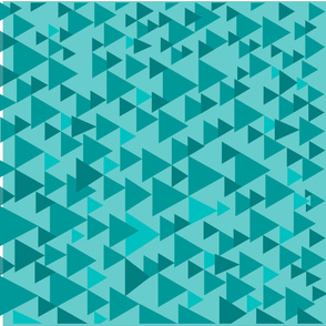 Triangle-Teal-Teal