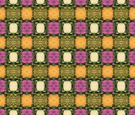 cauliflower 2 fabric by hypersphere on Spoonflower - custom fabric