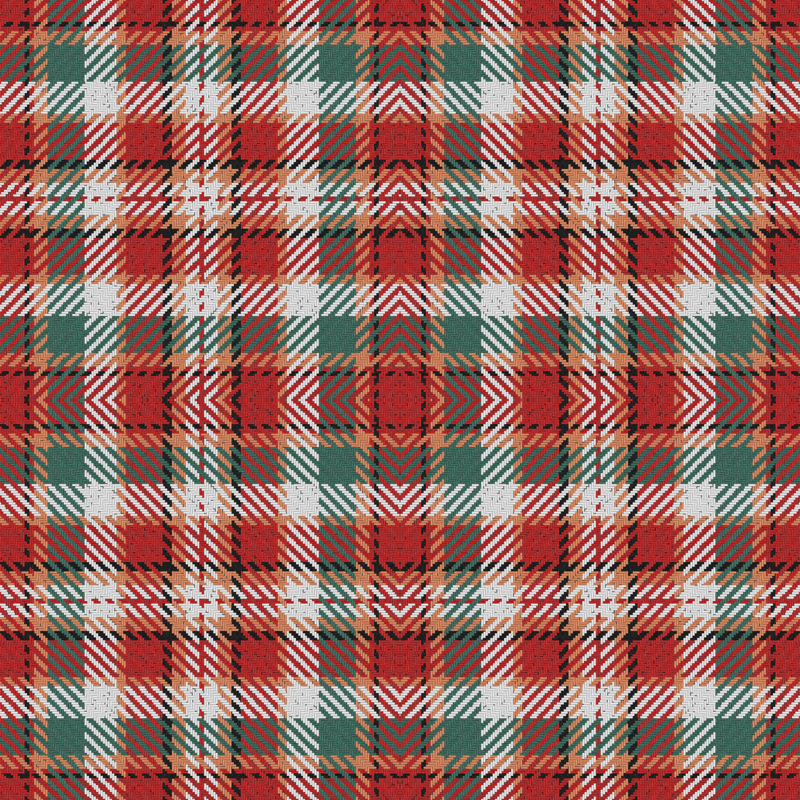 red and green christmas plaid wallpaper eclectic_house spoonflower - Christmas Plaid