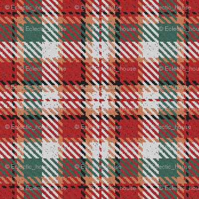 Red and Green Christmas Plaid