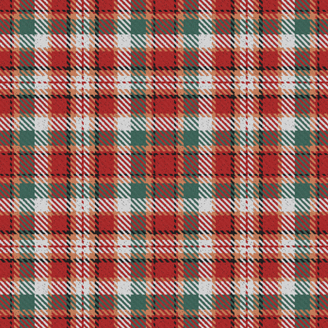 red and green christmas plaid fabric by eclectic_house on spoonflower custom fabric - Christmas Plaid