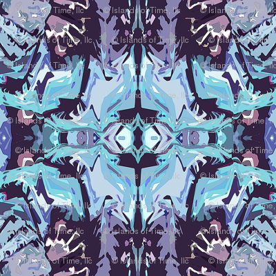 Native_Pattern3_Center_Light_Gray_Teal