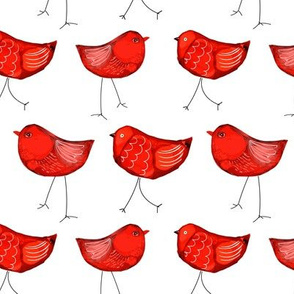 RED INKY BIRDS