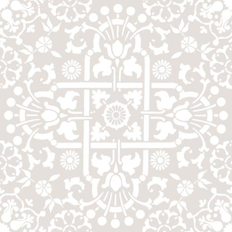 Edeline in belgian linen fabric by lilyoake on Spoonflower - custom fabric