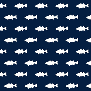 fish on navy