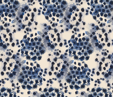Pacific Indigo fabric by stacey-day on Spoonflower - custom fabric