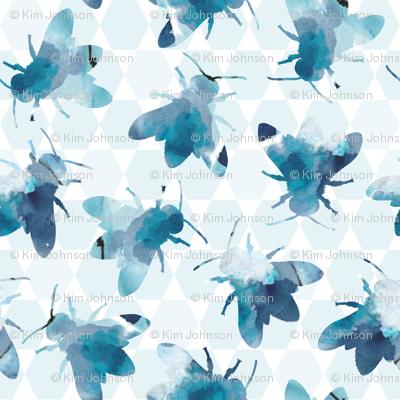 bee_watercolor_pattern