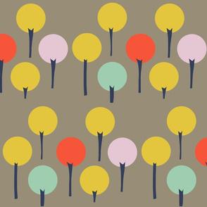 Color Pop Trees