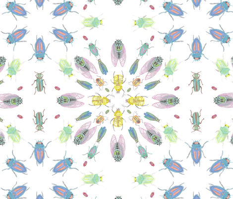 insectos fabric by dhda on Spoonflower - custom fabric