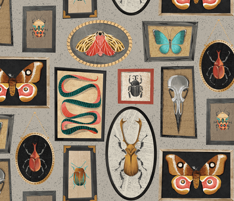 specimens repeat fabric by michaelzindell on Spoonflower - custom fabric