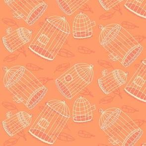 birdcage tipsy topsy [peach]