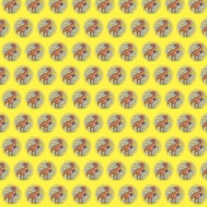 Yellow Dinosaur from the Jurassic