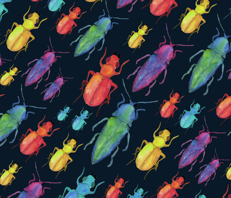 InsectsMariaPaula fabric by mariapaularq on Spoonflower - custom fabric
