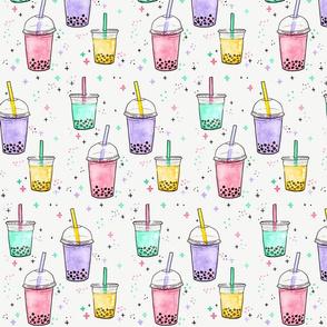 Bubble Tea LARGE // bubble tea, drink, tea, food, drinks, treats, fun , ice cream, tamara arcilla