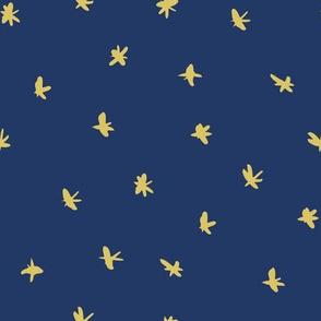 Messy Stars - Blue