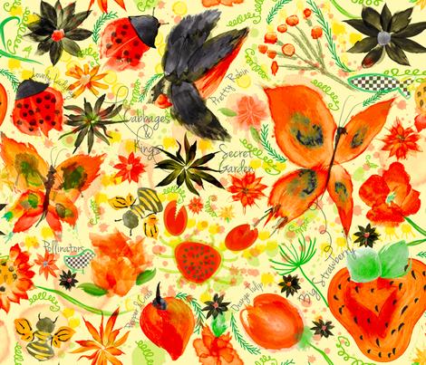 Lady's Choice fabric by orangefancy on Spoonflower - custom fabric