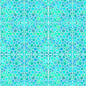 Fizz: blue and green