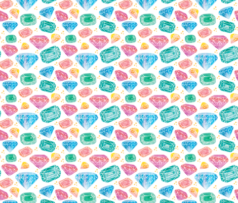 Diamond01 fabric by y_me_it's_me on Spoonflower - custom fabric