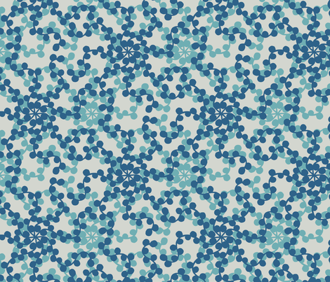 Ditsy Dots beam fabric by docious_designs_by_patricia_braune on Spoonflower - custom fabric