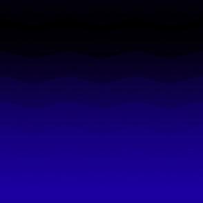 Dark blue to black ombre by Su_G