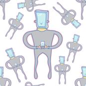 Mr smartphone robot