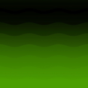 Green to black ombre by Su_G