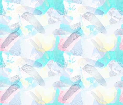 Dragonfly Wings fabric by jamielewisdesigns on Spoonflower - custom fabric