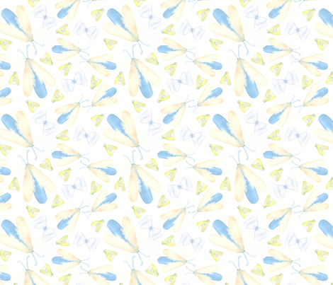 InsectContest fabric by camimorales on Spoonflower - custom fabric