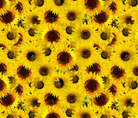 Bee Booties fabric by dahliabunny on Spoonflower - custom fabric
