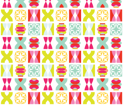Soleil - Icon Citrus fabric by kooki_studio on Spoonflower - custom fabric