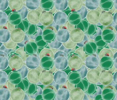 marbles_and_bugs fabric by laurajohanna on Spoonflower - custom fabric