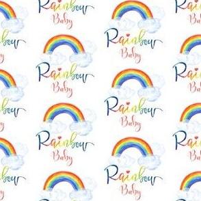 """2"""" Rainbow Baby"""