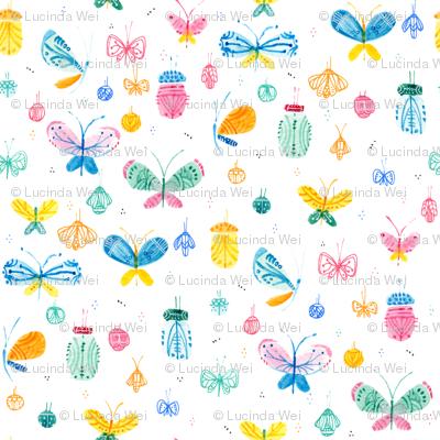 Summer is a flutter - © Lucinda Wei