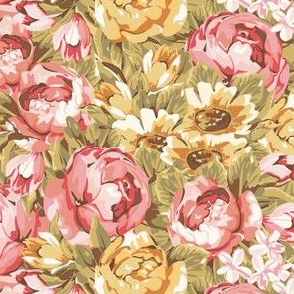 Timeless - Floral Print Large