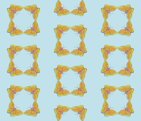 Flutterby fabric by girlupinatree on Spoonflower - custom fabric