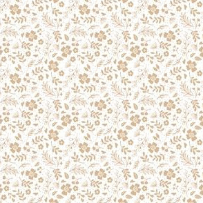 Timeless - Tiny Floral - Brown