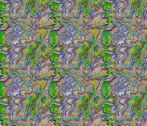 Lightn' Bugs fabric by vickiejofranks on Spoonflower - custom fabric
