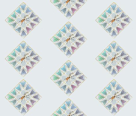said_the_spider2the_flies fabric by elle_jay_jax on Spoonflower - custom fabric
