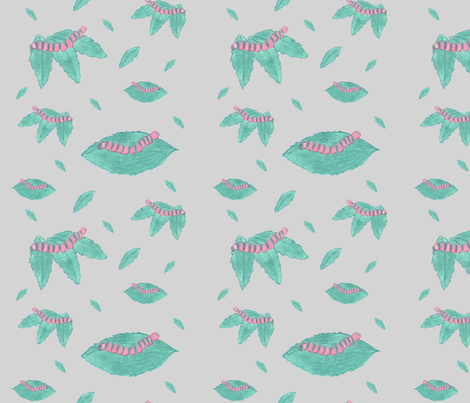 Chenilles fabric by papilloca_ on Spoonflower - custom fabric