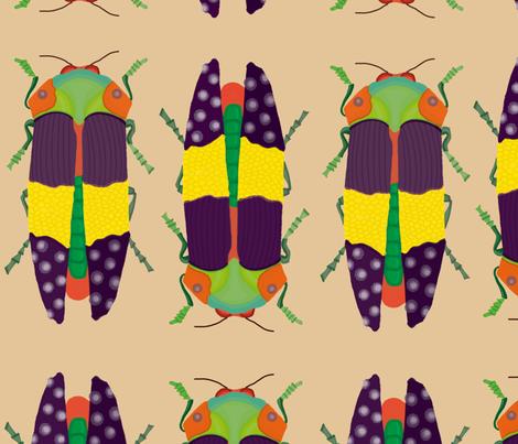 bichooooooo fabric by camilagiraldom on Spoonflower - custom fabric