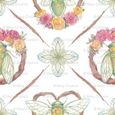 Ready to Fly - Cicada Print